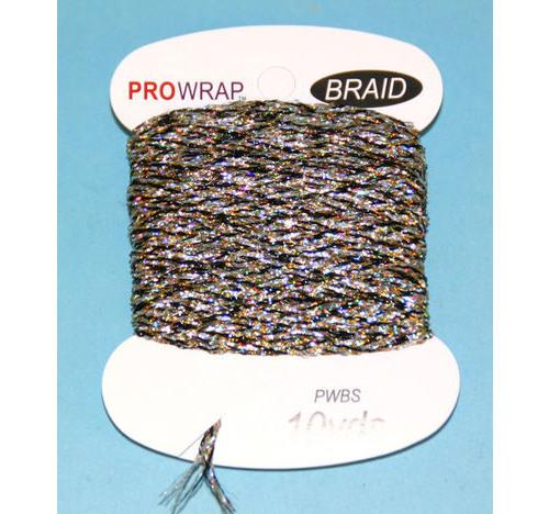 PROWRAP Metallic Braid Silver/Gold/Black