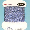 PROWRAP Metallic Braid Blue / Silver