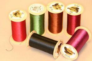 Fishhawk Nylon Whipping Thread 1oz Spools