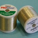Toque metálico ProWrap White & Gold