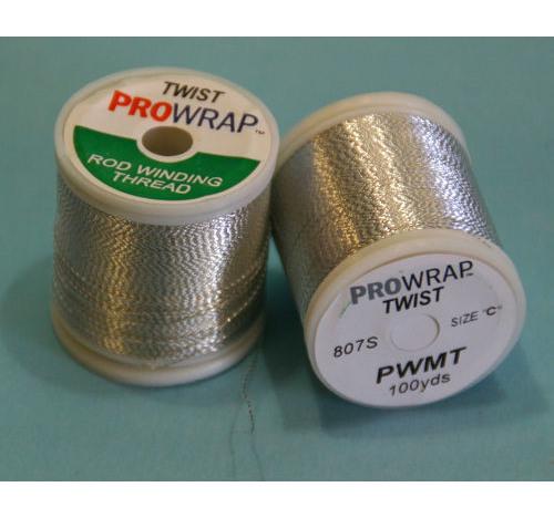 Prowrap metallic twist White & Silver