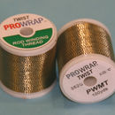 Prowrap metallic twist Black & Gold