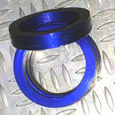 Aluminum Trim Ring Blue 22 OD 13 bore