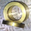 Aluminum Trim Ring Gold 25 OD 15 bore