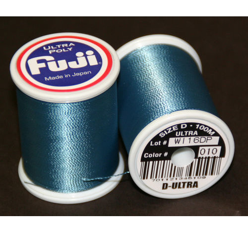 Fuji Ultra Poly 100m Spool BLUE DUN D