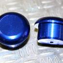 Tapón de apoyo de aluminio Azul 8mm diámetro de tallo