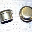 Tapón de apoyo de aluminio Oro claro 10mm diámetro de tallo