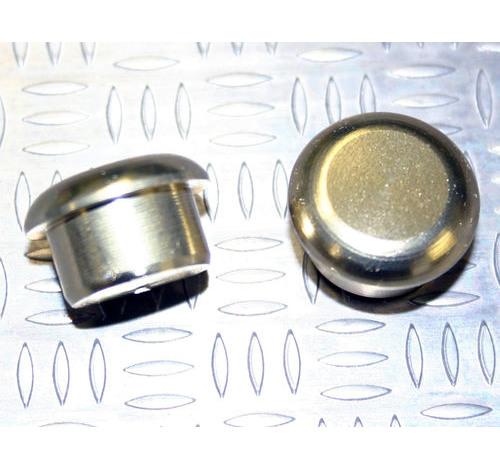 Tapón de apoyo de aluminio Oro claro 15mm diámetro de tallo