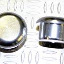 Tapón de apoyo de aluminio Plateado 8mm diámetro de tallo