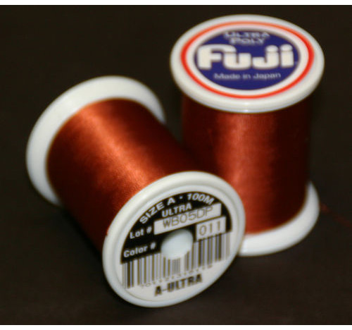 Fuji Ultra Poly 100m Spool CHESTNUT A