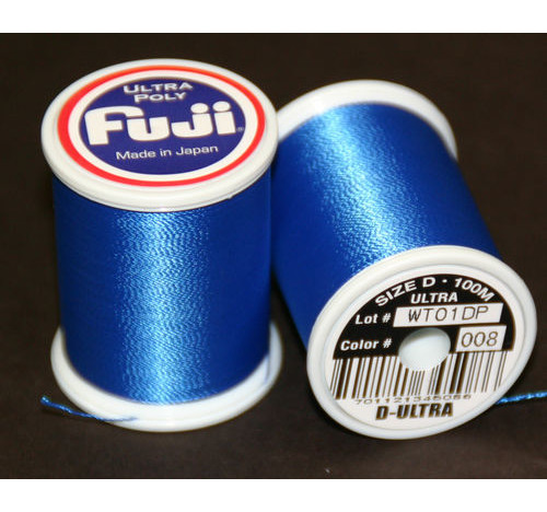Fuji Ultra Polly 100m Spool AZUL MARINO D