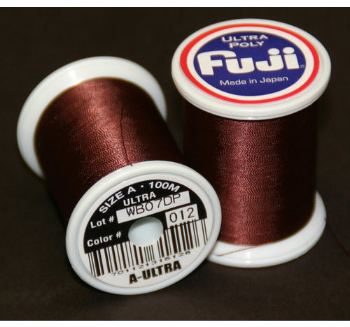 Fuji Ultra Polly 100m Spool MARRÓN OSCURO A