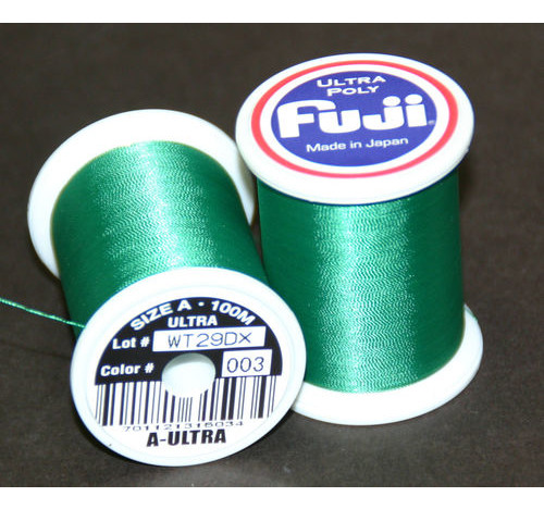 Fuji Ultra Poly 100m Spool DARK GREEN A