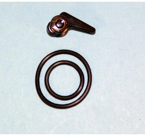 Fuji Slidable Hook Keeper (Black Body/Silver Wheel)