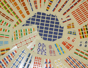 European Flag Decals