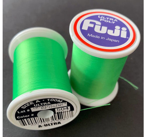 Fuji Ultra Poly 100m Spool NEON Lime D