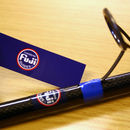 Fuji Logo on wrap 25mm x 90mm