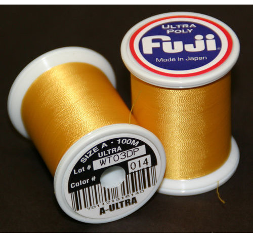 Fuji Ultra Polly 100m Spool GOLDENROD A