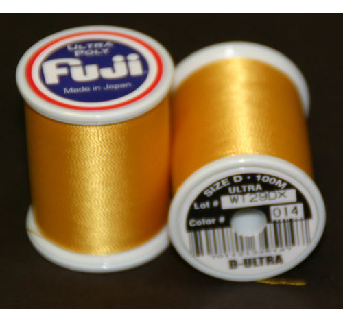 Fuji Ultra Polly 100m Spool vara de oro D