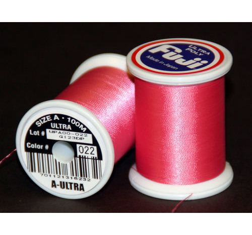 Fuji Ultra Poly 100m Spool HOT PINK A
