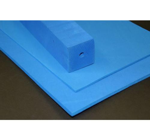 Duplon 6 mm sheet x 230 x 350 Blue