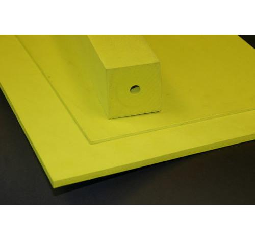 Duplon 3 mm sheet x 230 x 350 Yellow