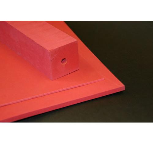 Duplon 3 mm sheet x 230 x 350 Red