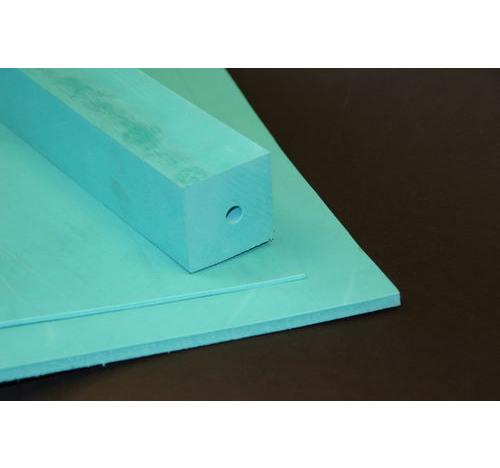 Duplon 6 mm sheet x 230 x 350 Green