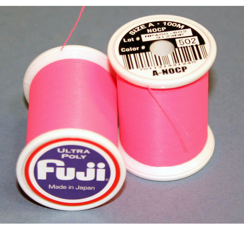 FUJI ULTRA POLY NCP 100M SPOOL HOT PINK A