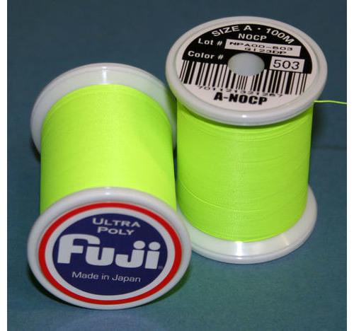 FUJI ULTRA POLY NCP 100M SPOOL NEON GREEN A