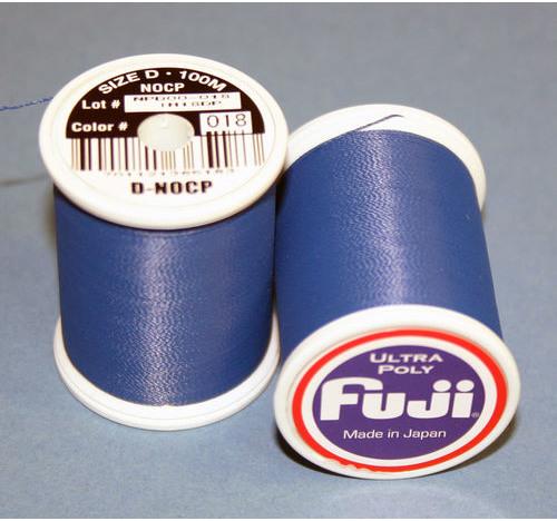 FUJI ULTRA POLY NCP 100M SPOOL NAVY BLUE D