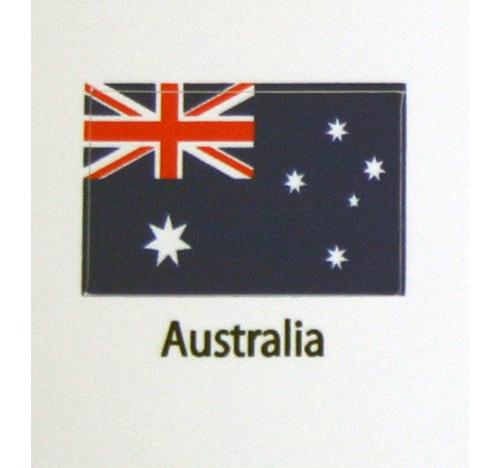 Australian Flag decal 3 pack