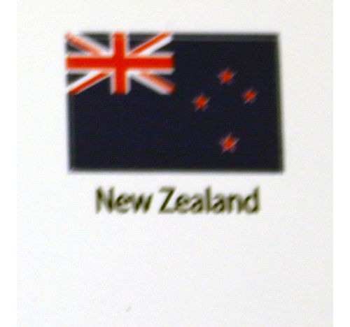New Zealand Flag decal 3 pack