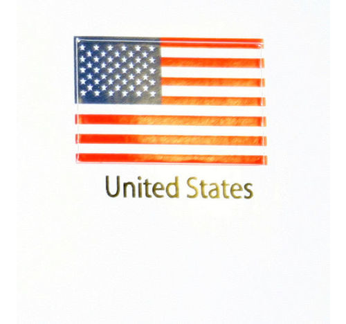 United States America Flag decal 3 pack