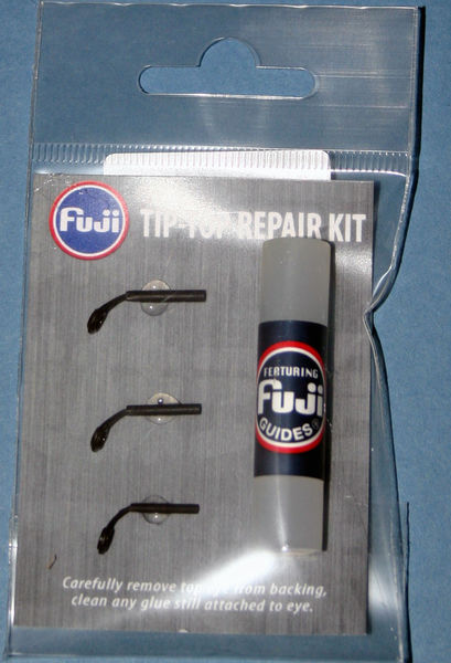 Match Rod Tip top kit Black finish tips