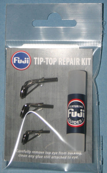 Spinning / Course Rod Tip top kit Bright finish tips