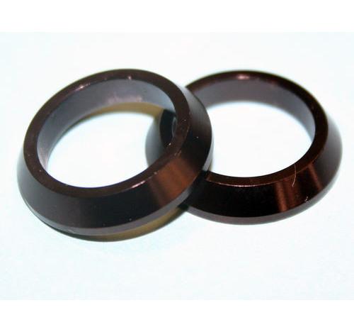 Al Slim Winding Check Black 16mm bore