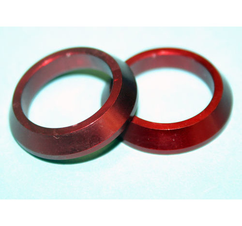 Al Slim Winding Check RED 15mm bore