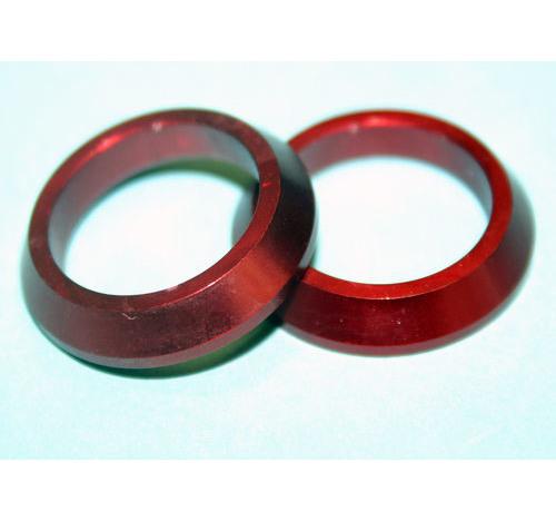 Al Slim Winding Check RED 17mm bore