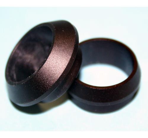 Al Collar Large MATT BLACK 16 bore