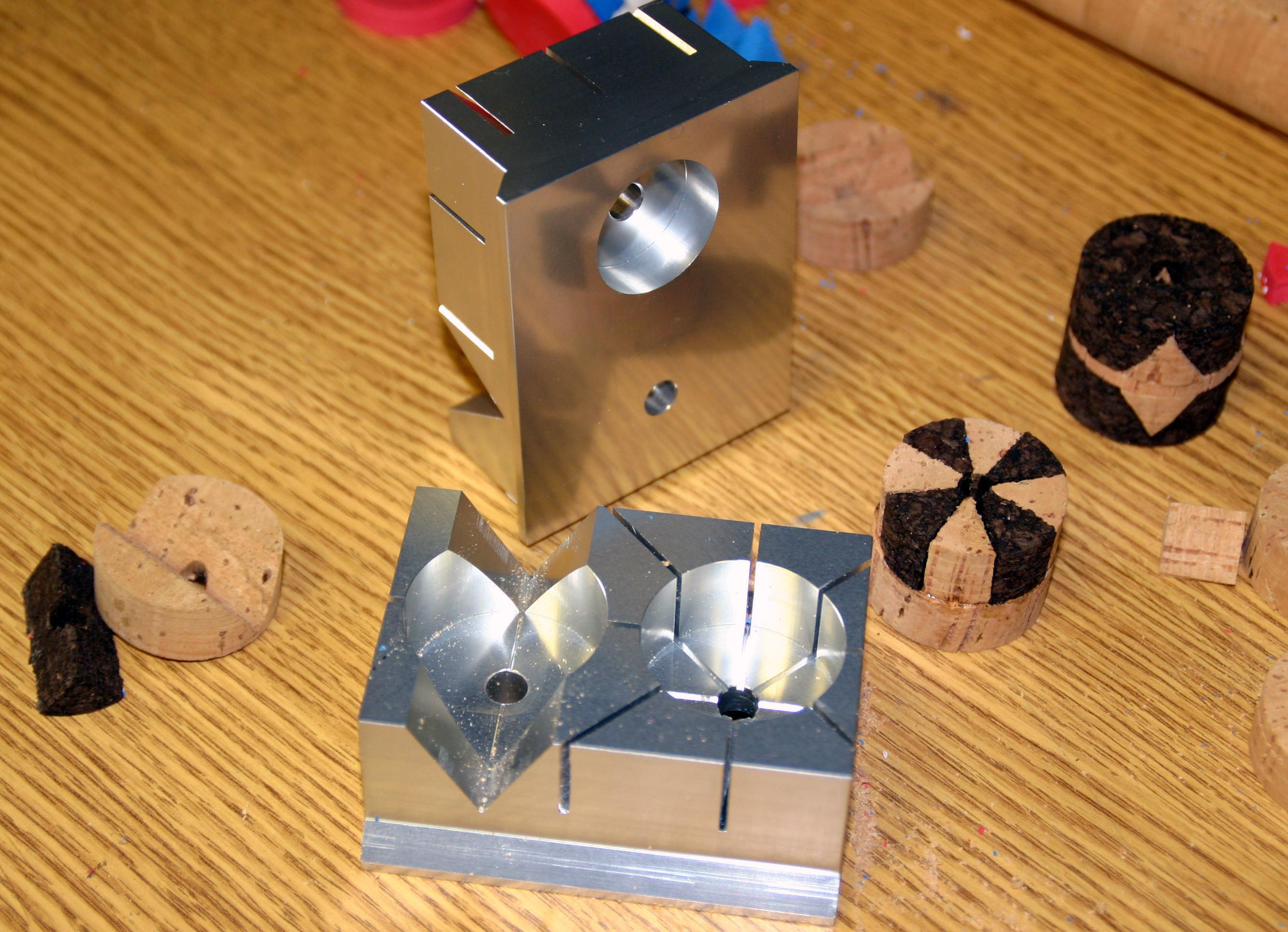 3-in-1-schablone zum zerschneiden von kork - rod building equipment