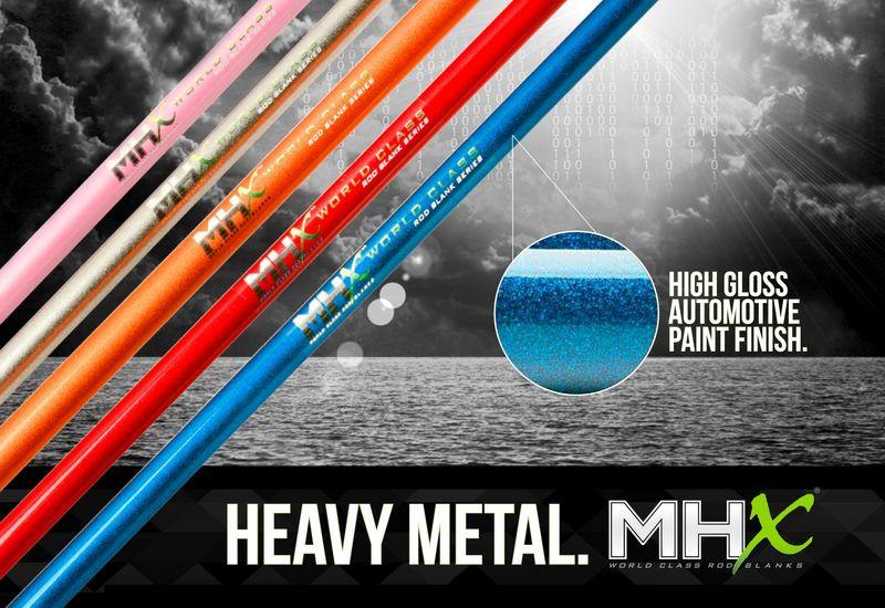 Heavy Metal Mhx Blanks Heavy Metal Mhx Blanks Rod Blanks