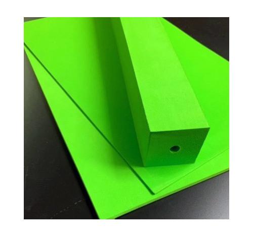 Duplon 6 mm sheet x 230 x 350 Neon Green