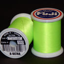 Fuji Ultra Poly 100m Spool NEON GREEN A