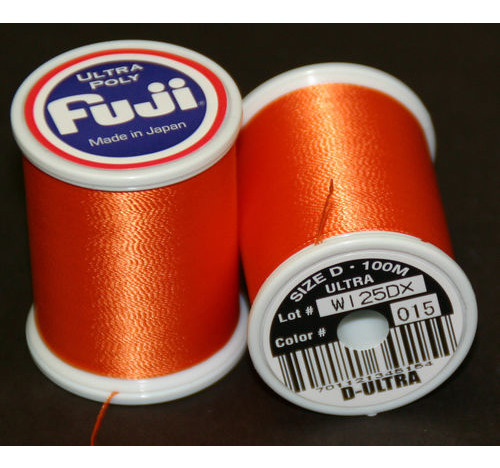 Fuji Ultra Polly 100m Spool ORANGE D