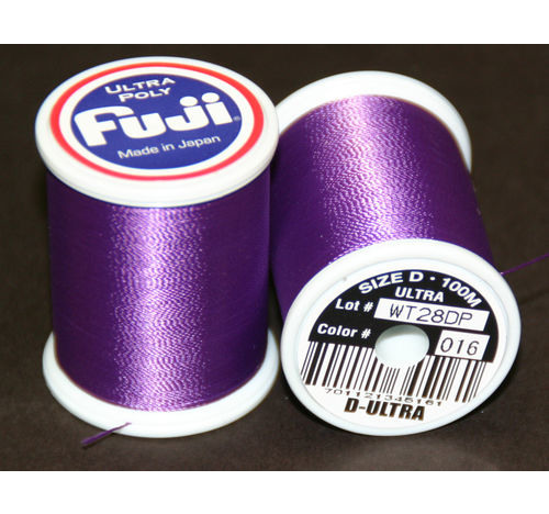Fuji Ultra Poly 100m Spool PURPLE D