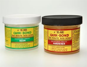 U40 QUIK-BOND 2 part adhesive kit