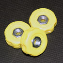 Rod Stand Coloured Knob Yellow