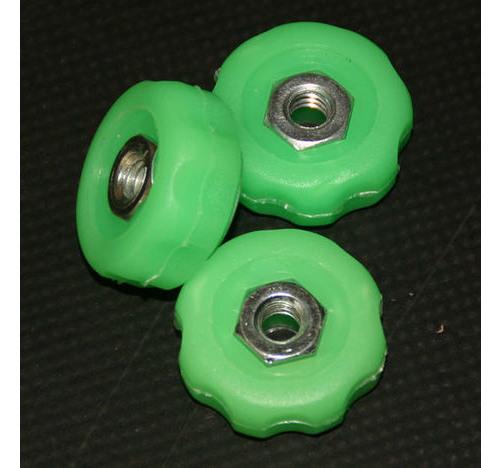 Manilla de colores para soporte de caña, color verde