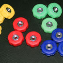 Rod Stand Coloured Knobs